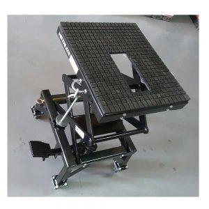 Moto sissor lift stand